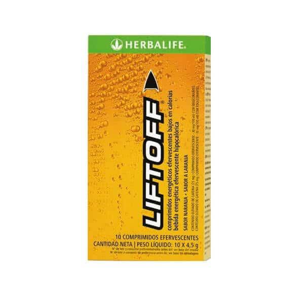 Liftoff Herbalife sabor naranja