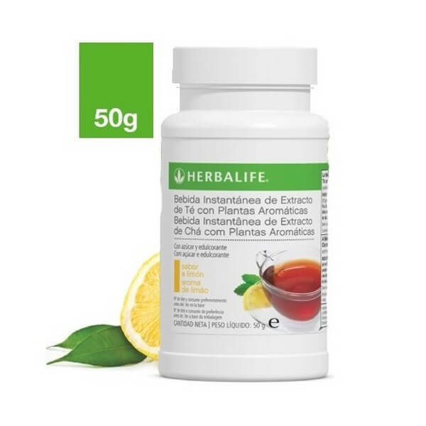 Bebida Instantánea de Hierbas a base de Té 50gr. Herbalife sabor limón