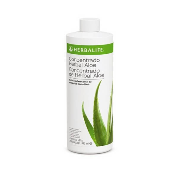 Concentrado Herbal Aloe Herbalife sabor Original