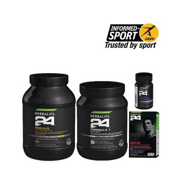 Pack Deportes de Fuerza Herbalife H24