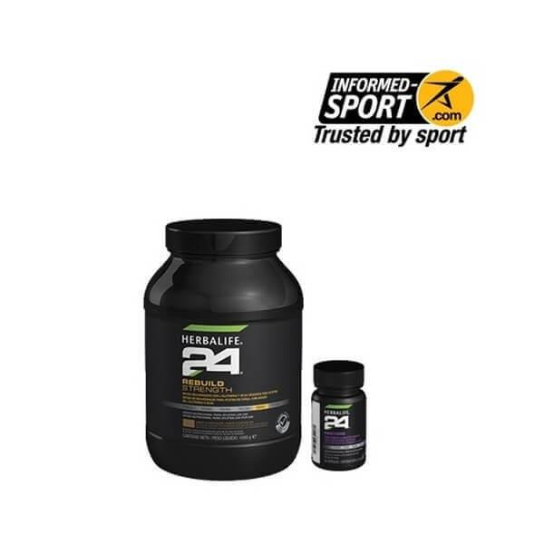 Pack Recuperador Deportes de Fuerza Herbalife H24