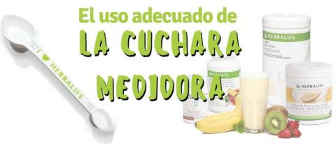 Cómo usar la Cuchara Medidora de Herbalife