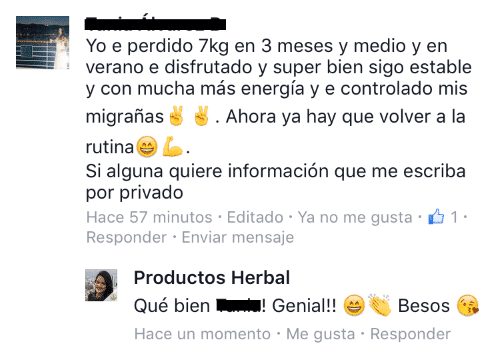 Opiniones Herbalife 5