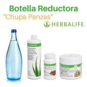 Botella Reductora Chupa Panzas Herbalife