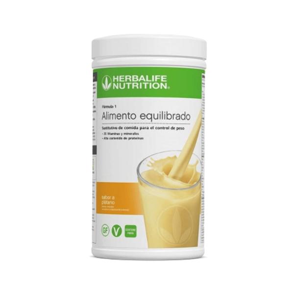 Batido Fórmula 1 Herbalife sabor Plátano
