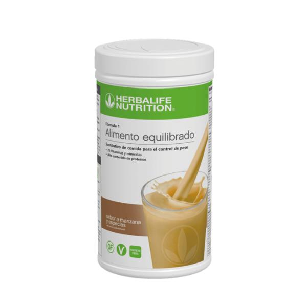 Batido Fórmula 1 Herbalife sabor Manzana y Especias