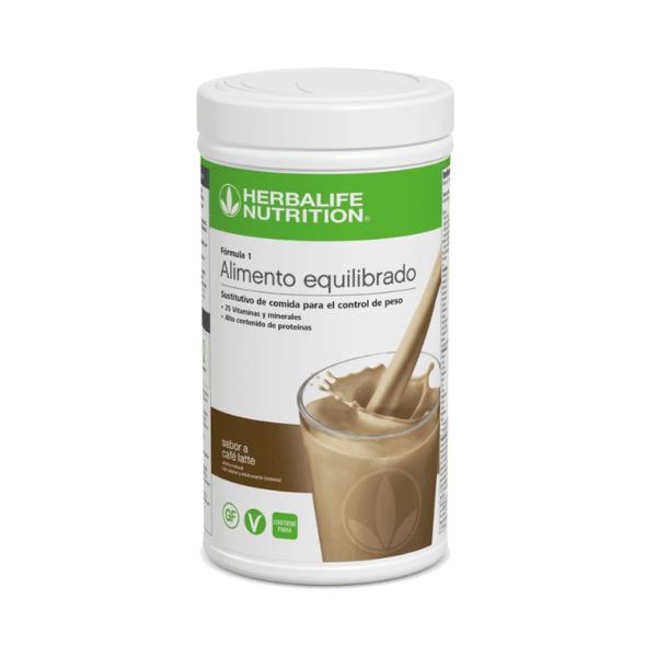 Batido Fórmula 1 Herbalife sabor Café Latte