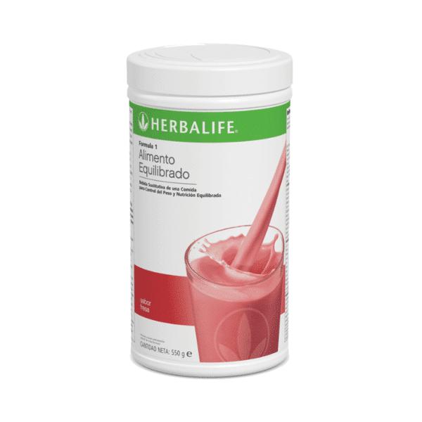 Batido Fórmula 1 Herbalife sabor Fresa